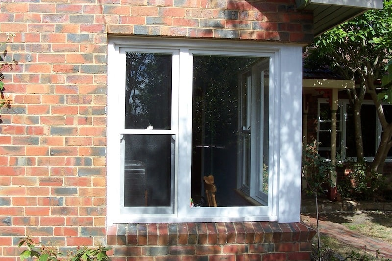 Double Hung Windows with Fixed Sash