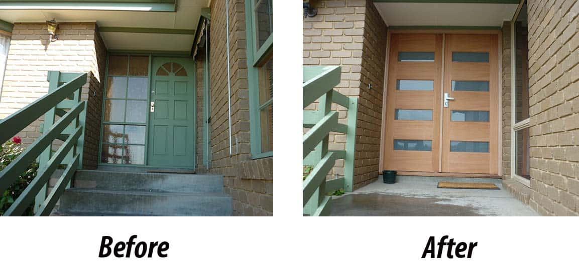 double glazed timber doors facelift window