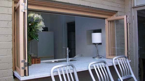 Bifold Servery Windows From Facelift Windows