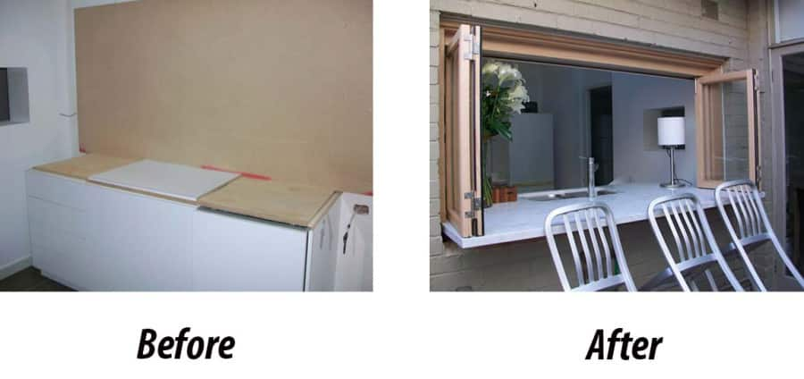 bifold servery windows from facelift window and door replacements