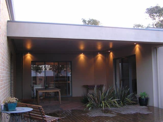 Home with one of our alfresco rooms in Melbourne